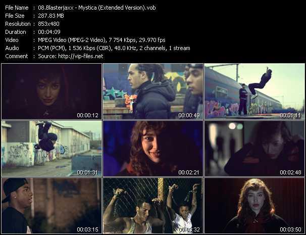 Blasterjaxx video screenshot