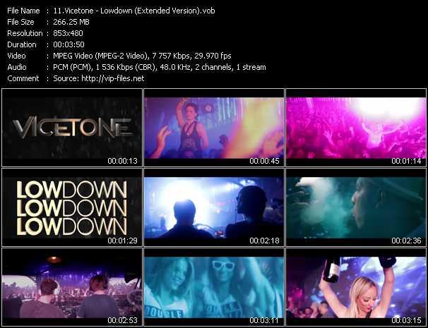 Vicetone video screenshot