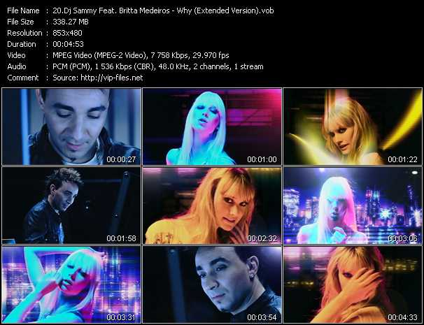 Dj Sammy Feat. Britta Medeiros video screenshot