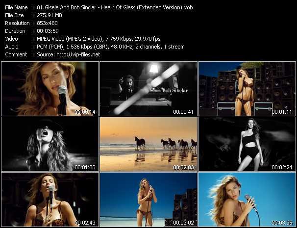 Gisele And Bob Sinclar video screenshot