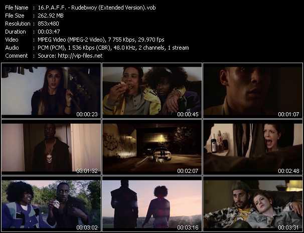 P.A.F.F. video screenshot