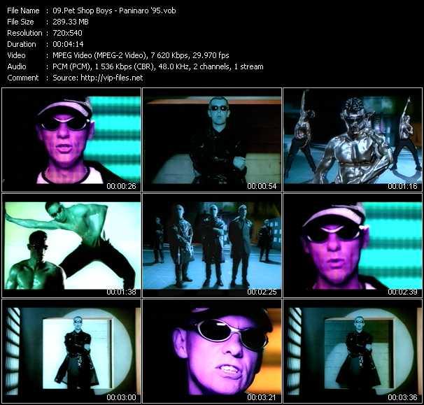 video Paninaro '95 screen