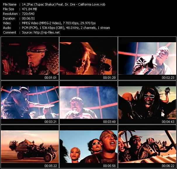 2Pac (Tupac Shakur) Feat. Dr. Dre video screenshot