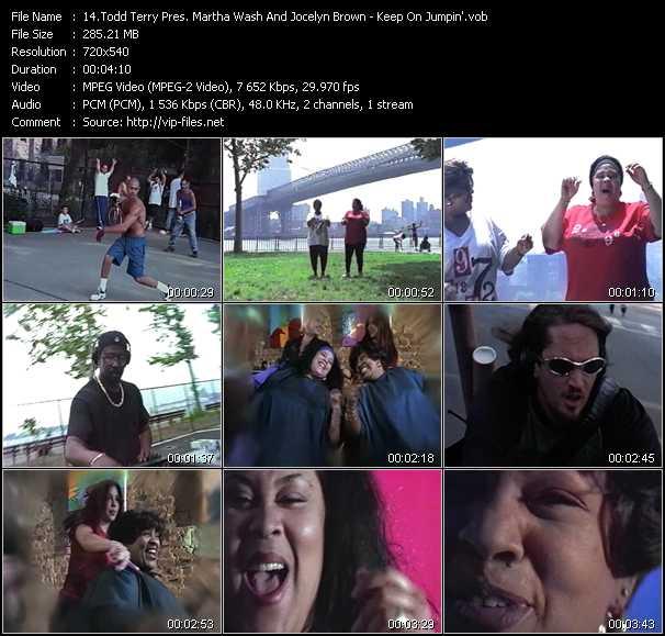 Todd Terry Pres. Martha Wash And Jocelyn Brown video screenshot