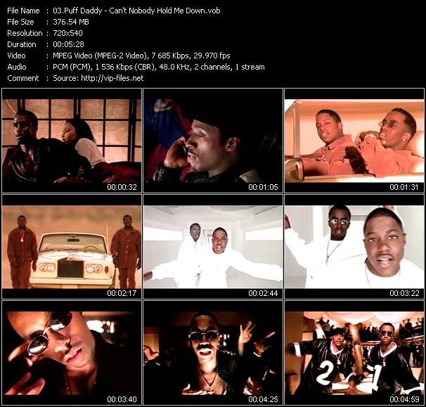 Puff Daddy (P. Diddy) video screenshot