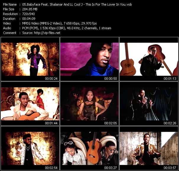 Babyface Feat. Shalamar And LL Cool J video screenshot
