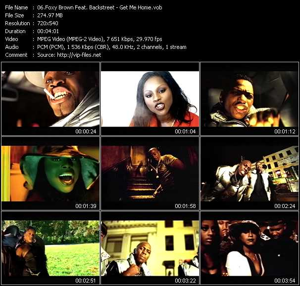 Foxy Brown Feat. Blackstreet video screenshot