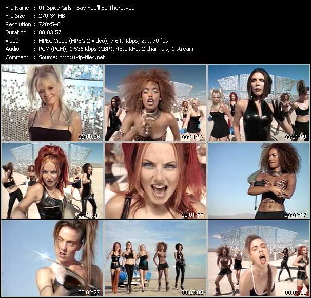 Spice Girls video screenshot