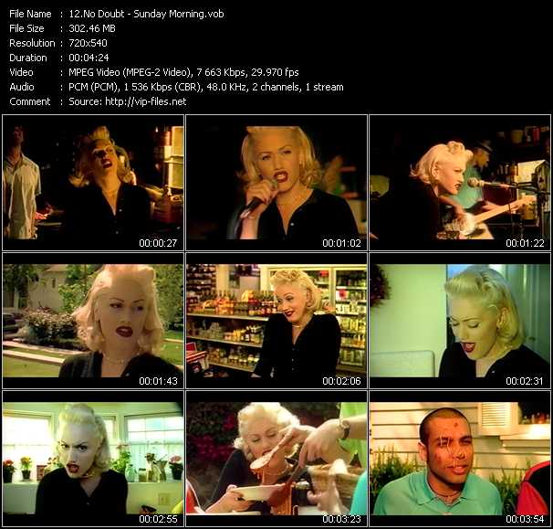No Doubt video screenshot