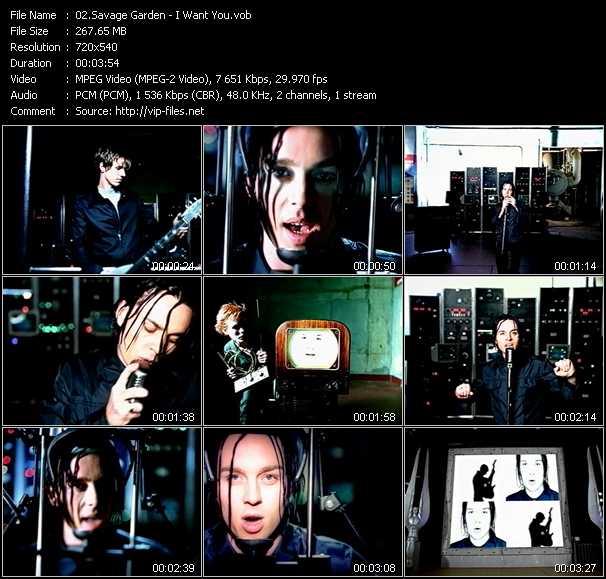 Savage Garden video screenshot