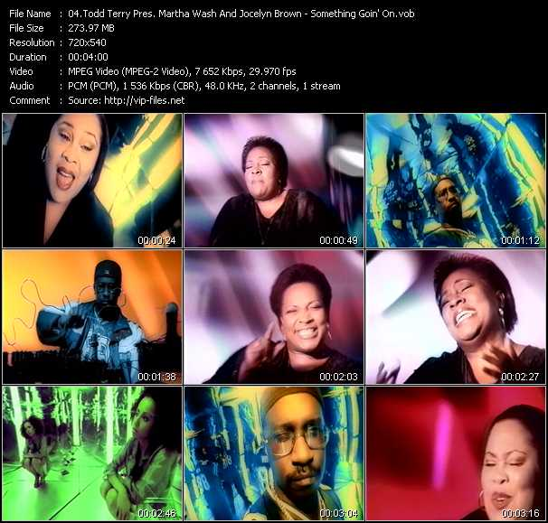 Todd Terry Pres. Martha Wash And Jocelyn Brown video screenshot