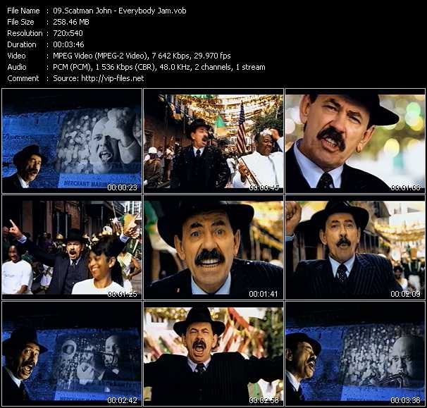 Scatman John video screenshot