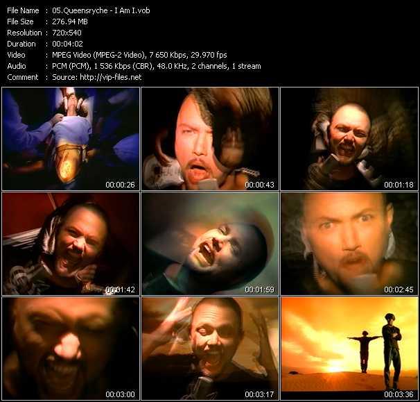 Queensryche video screenshot
