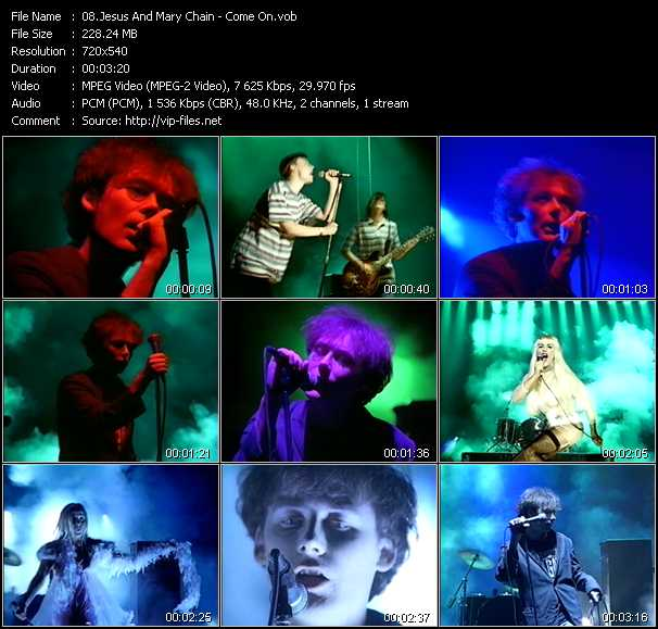 Jesus And Mary Chain video screenshot