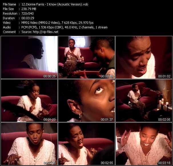 Dionne Farris video screenshot