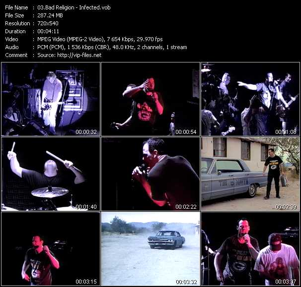 Bad Religion video screenshot