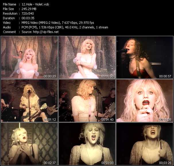 Hole video screenshot