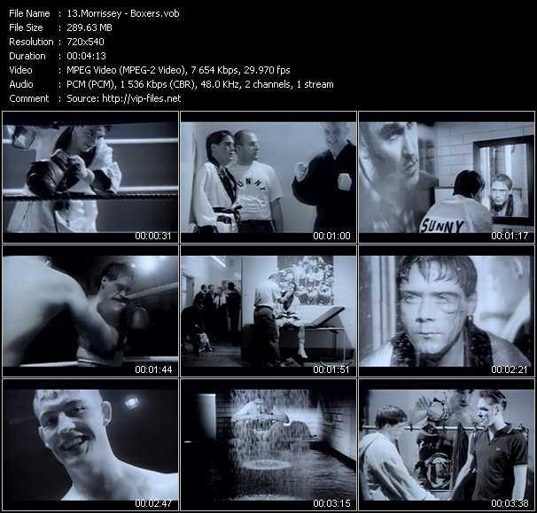 Morrissey video screenshot