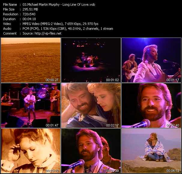 Michael Martin Murphy video screenshot