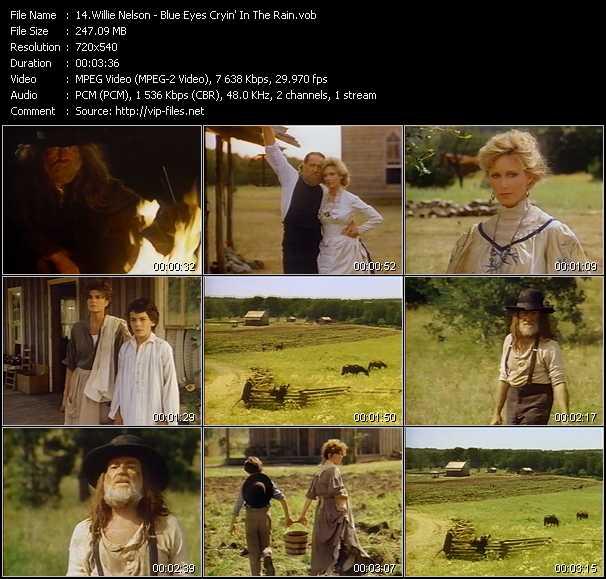 Willie Nelson video screenshot