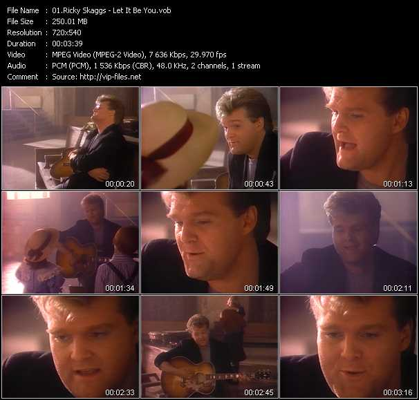Ricky Skaggs video screenshot