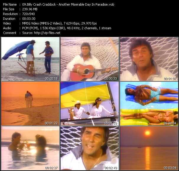Billy Crash Craddock video screenshot