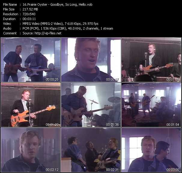 Prairie Oyster video screenshot
