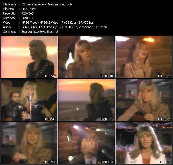 Jann Browne video screenshot