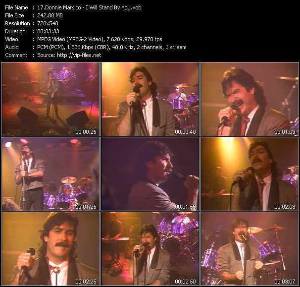 Donnie Marsico video screenshot