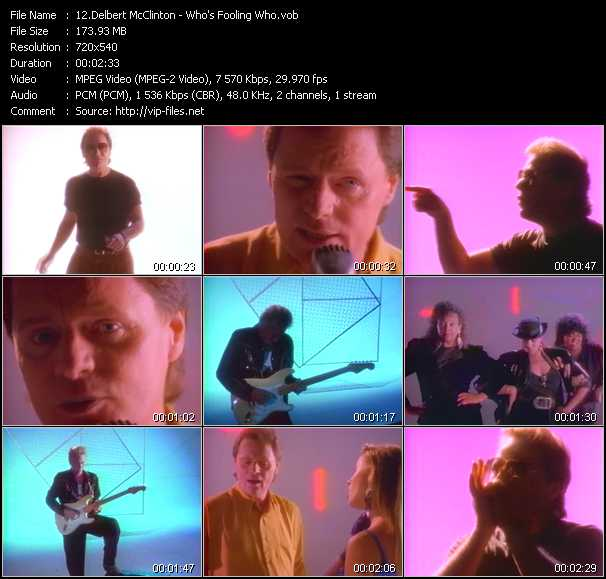 Delbert McClinton video screenshot