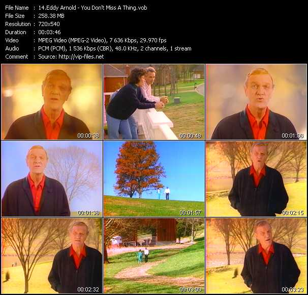 Eddy Arnold video screenshot