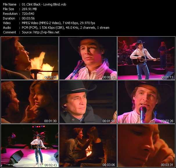 Clint Black video screenshot