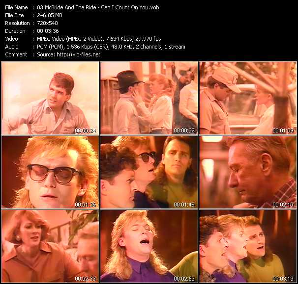 McBride And The Ride video screenshot