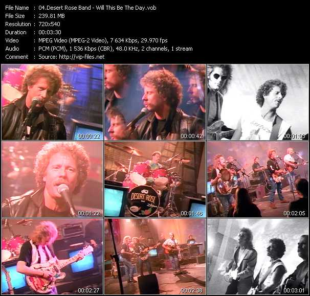 Desert Rose Band video screenshot