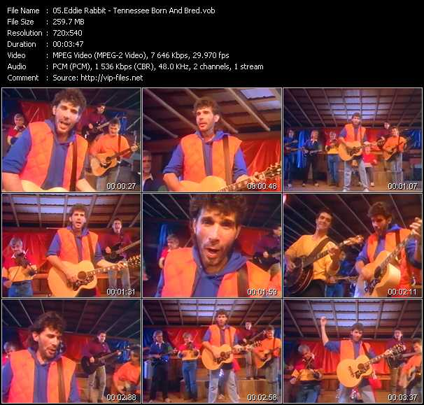 Eddie Rabbitt video screenshot