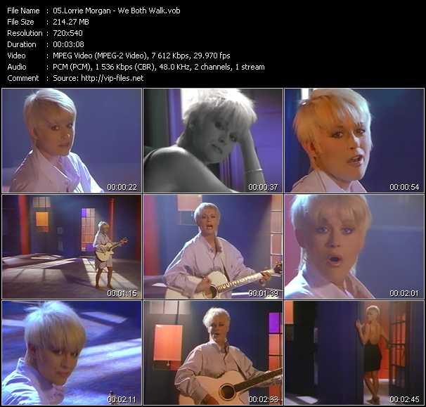 Lorrie Morgan video screenshot