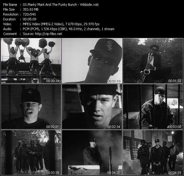 Marky Mark And The Funky Bunch video screenshot