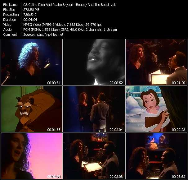 Celine Dion And Peabo Bryson video screenshot