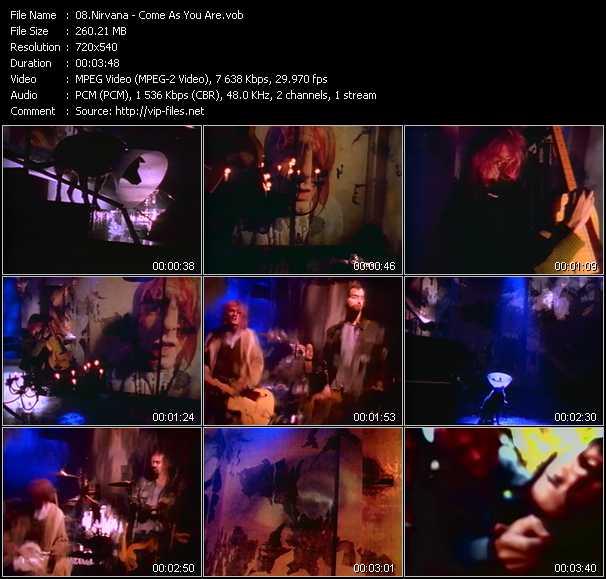 Nirvana video screenshot