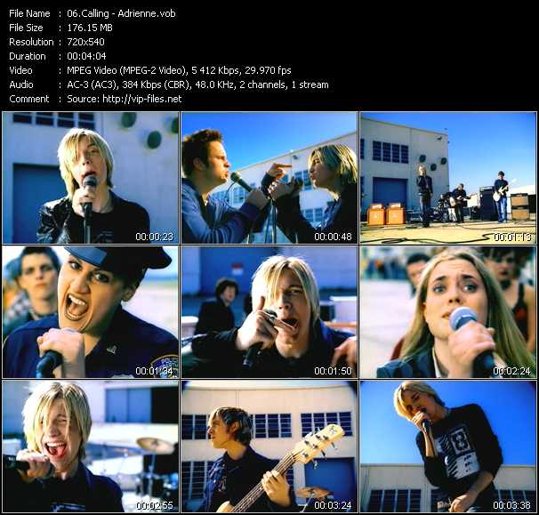 Calling video screenshot