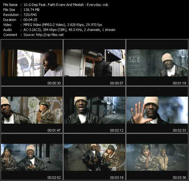 G-Dep Feat. Faith Evans And Meelah video screenshot