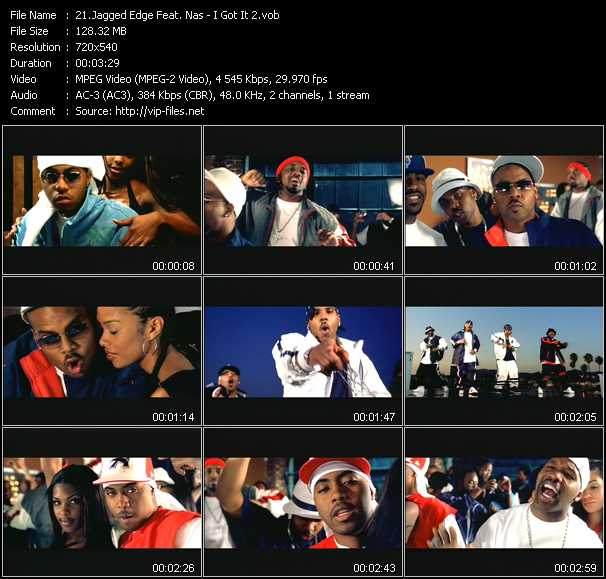 Jagged Edge Feat. Nas video screenshot
