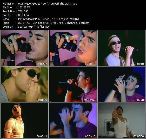 Enrique Iglesias video screenshot