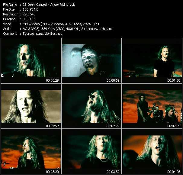 Jerry Cantrell video screenshot