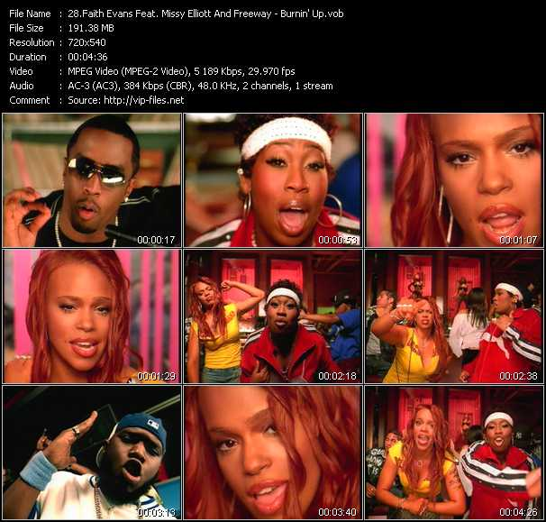 Faith Evans Feat. Missy Elliott And Freeway video screenshot