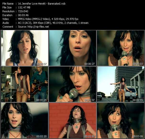 Jennifer Love Hewitt video screenshot