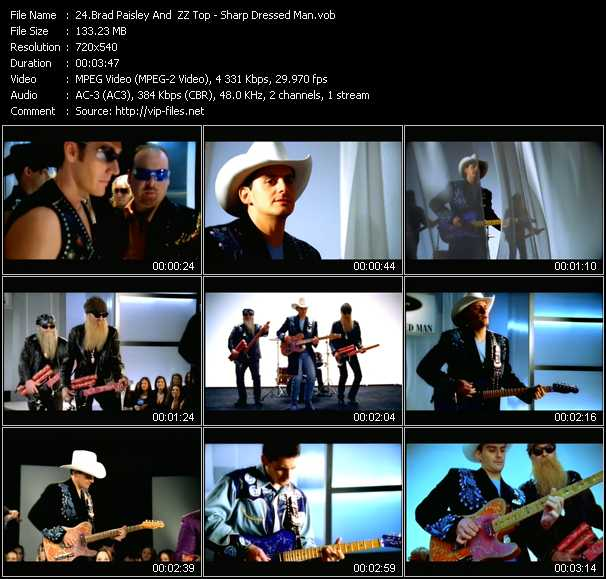 Brad Paisley And ZZ Top video screenshot