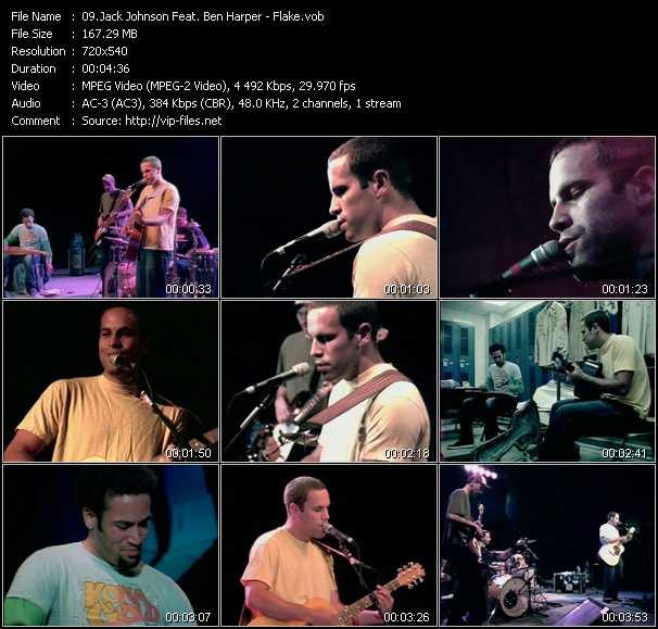 Jack Johnson Feat. Ben Harper video screenshot