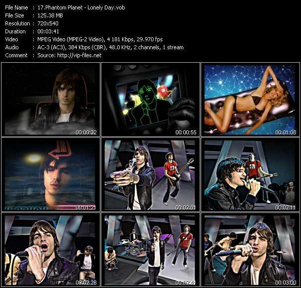 Phantom Planet video screenshot