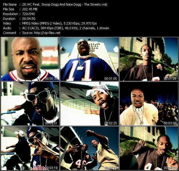 WC Feat. Snoop Dogg And Nate Dogg video screenshot